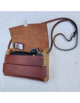 Bag2Roots Tasche groß braun