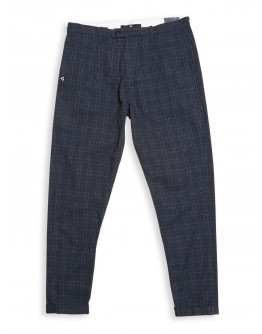 Hose Raphael Gate Trousers blue checked