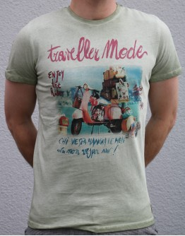 T-Shirt mit Motiv Vespa