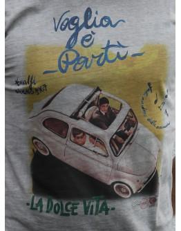 T-Shirt mit Motiv Auto