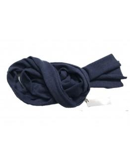 Schal, Kaschmir, blau