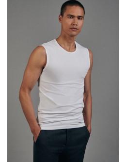 T-Shirt Tanktop weiß